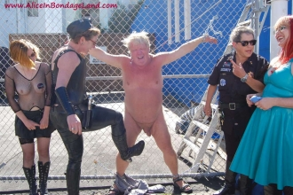 Pussy, love Ball bondage kick